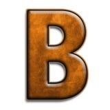 b棕色皮革 库存图片