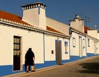 b葡萄牙街道 免版税库存图片