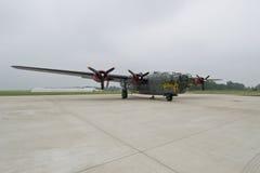B24 βομβαρδιστικό αεροπλάνο Στοκ Φωτογραφίες