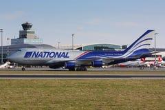B747 εθνικός Στοκ Εικόνα