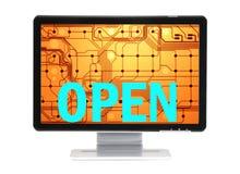 b открытый стоковые изображения