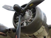 B17孟菲斯响铃轰炸机引擎 库存图片