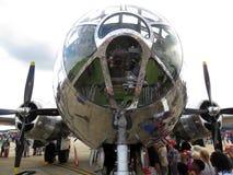 B29轰炸机顶锥 免版税库存图片