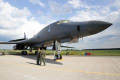 B-1轰炸机 免版税库存照片