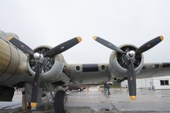 B-17翼 库存照片
