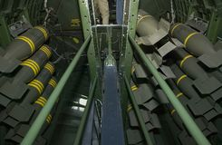 B-17 Bomb Bay Stock Images