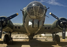 B-17 Bomber. This is a picture of a B-17 Bomber Stock Image