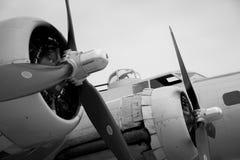 B-17 bommenwerper Stock Foto's