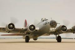 B-17 bommenwerper Stock Afbeelding