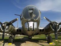 B-17 fecham-se acima. Imagens de Stock