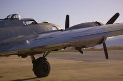 B-17 sur la piste Photographie stock