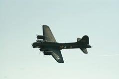 B-17 vliegende Vesting tijdens de vlucht Stock Foto