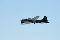 B-17 vliegende Vesting tijdens de vlucht Stock Afbeelding