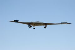 B-2 bomber 5. A b2 bomber flying at whiteman airforce base missouri Stock Photography