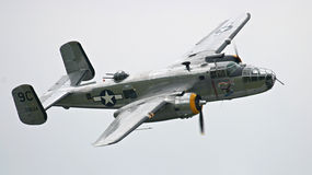 B-25 bomber Stock Photo
