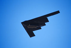 B-2A Stealth Bomber. B-2A Spirit of New York Stealth Bomber with weapons bay open Stock Photos