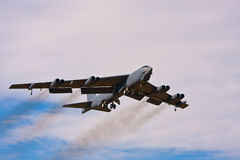 B-52轰炸机 库存图片