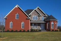 b 9 piękne domy serii Obrazy Royalty Free