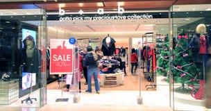 B+ab shoppar i Hong Kong Royaltyfria Foton