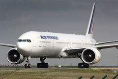 B777 Air France Stock Foto