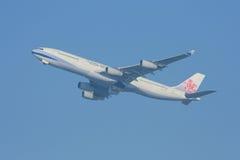 B-18806 Airbus A340-300 da linha aérea de China Fotografia de Stock