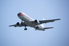 B-6928 Airbus A320-200 da linha aérea oriental de China Imagem de Stock