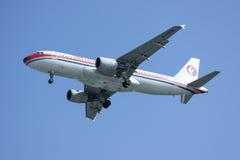 B-6928 Airbus A320-200 da linha aérea oriental de China Foto de Stock Royalty Free