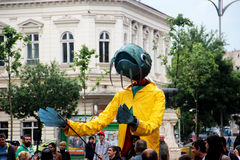 B-ajuste gigante 2014 dos fantoches Foto de Stock Royalty Free
