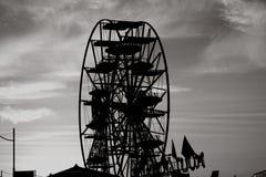 B&w de roue de Paronamic Photographie stock libre de droits