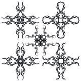 B&w decorativo da cruz II do jogo Imagens de Stock Royalty Free