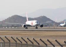 B 767. Aviacion civil y comercial  latam Royalty Free Stock Image