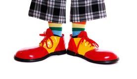 Błazenów buty Zdjęcia Stock