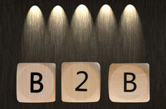 B2B Fotografia de Stock