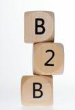 B2B Fotografia Stock