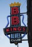 B.B. blues Club国王的 免版税库存图片