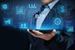 B2B Business Company Commerce Technology Marketing concept stock photo