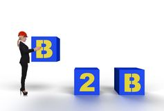 B2b concept Stock Image