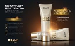 B.B. cream ads Stock Image