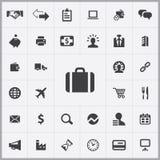 B2B icons universal set Royalty Free Stock Image