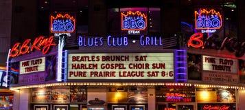 B.B. König Blues Restaurant Lizenzfreie Stockfotografie