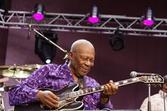 B. B. King Stock Photography