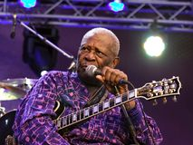 B. B. King Royalty Free Stock Images