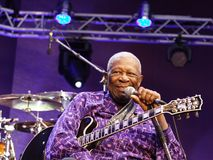 B. B. King Royalty Free Stock Photography