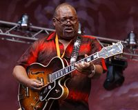 B. B. King Band Stock Photography