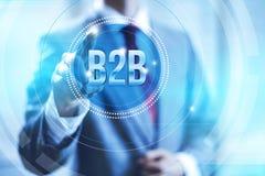 B2b-Konzept Stockfotos