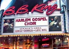 B.B. Rey Blues Restaurant Fotos de archivo libres de regalías