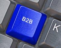 B2B-transactie royalty-vrije stock foto's