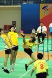 B.B. Zhang in actie Royalty-vrije Stock Fotografie