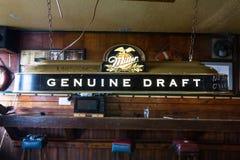 The B & B Bar, Kodiak, Alaska. stock photos