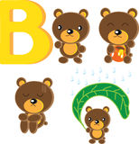 B-Bear Royalty Free Stock Photography